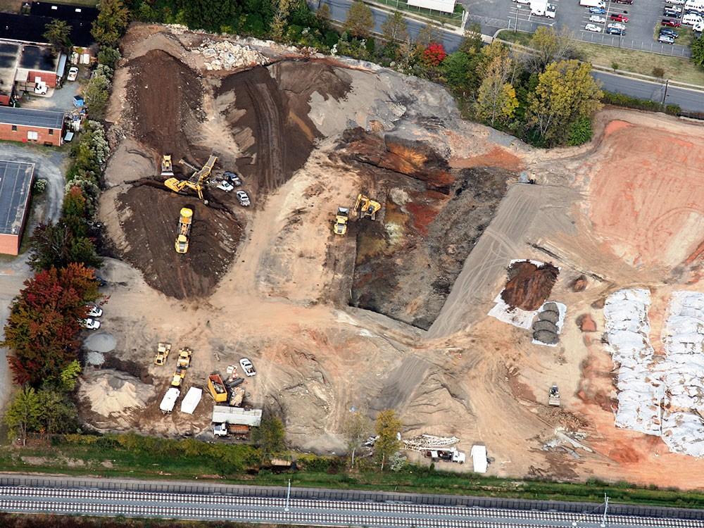 Aerial Documentation of Soil Remediation