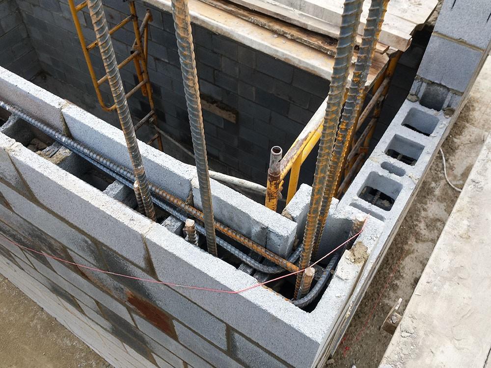 Steel reinforced Masonry Inspection